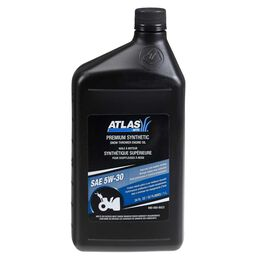 Atlas 5W 30 Synthetic 4-Cycle Snow Blower Oil