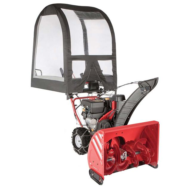 Universal Snow Blower Cab Attachment