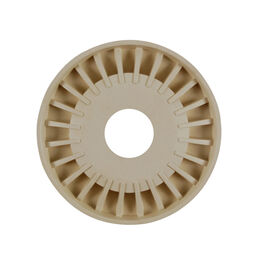 Spoke Hub Cap With Hole-Beige