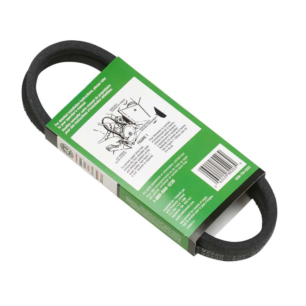 TROY-BILT 754-0222A Replacement Belt MTD 1//2X44