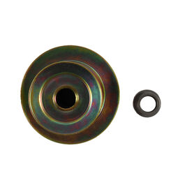 "Engine Double Pulley - 3.56"" x 6.12"" Dia."