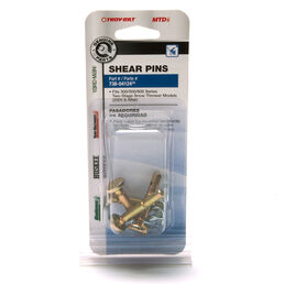 Shear Pin Kit, .25 x 1.5""