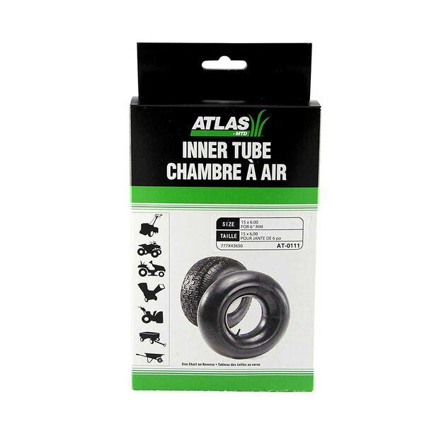 """Universal Inner Tire Tube - 15 x 6"""""""