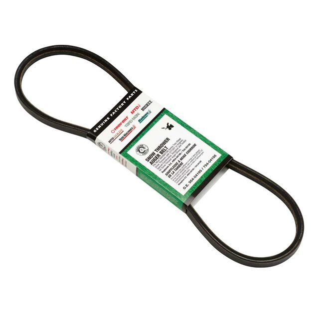 Replacement Snow Thrower Auger Belt - 500/600/700 Stage 2 Series