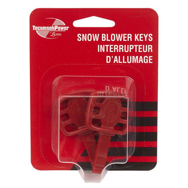 Tecumseh Snow Blower Key/ Ignition - 2/pack