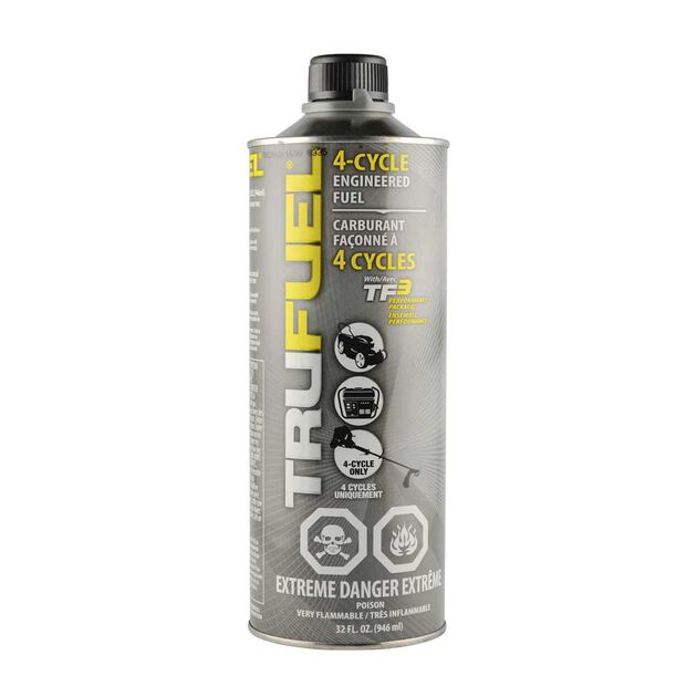 Trufuel treated fuel - 32oz can - 4-Cycle