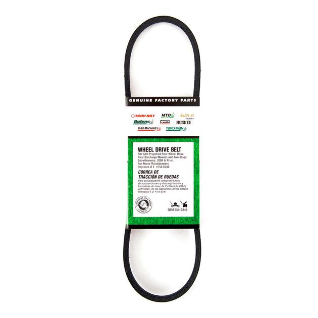 Snow Blower Wheel Drive Belt
