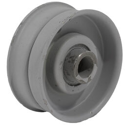 """Idler Pulley With Flange - 2.00"""" Dia."""