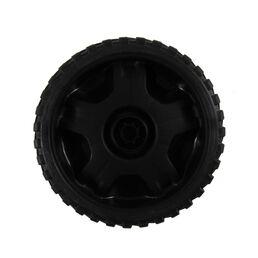 Wheel Assembly, 7 x 2 - Black